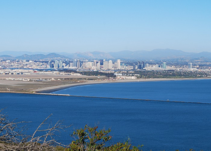 Viewing San Diego from Point Loma