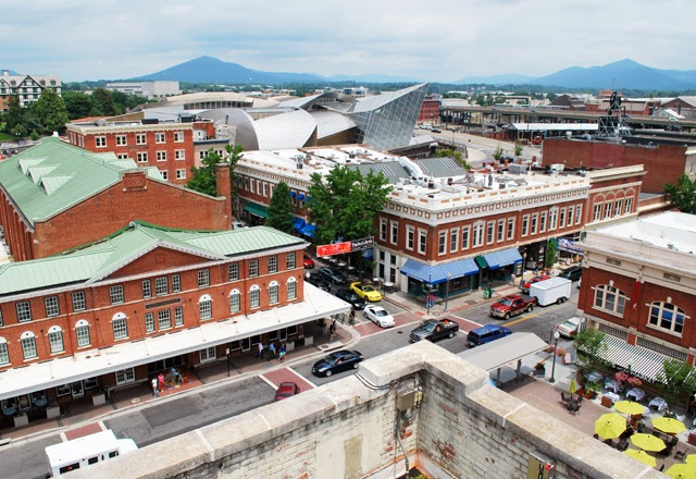 Visiting Roanoke by Amtrak