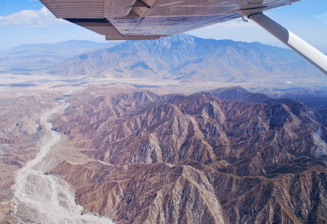 Flying over the Joshua Tree in Southern California | Em Then Now When