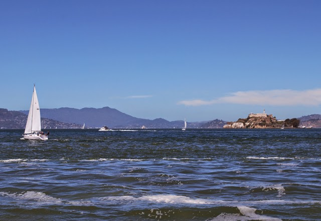 View of Alcatraz in San Francisco, California | Em Then Now When