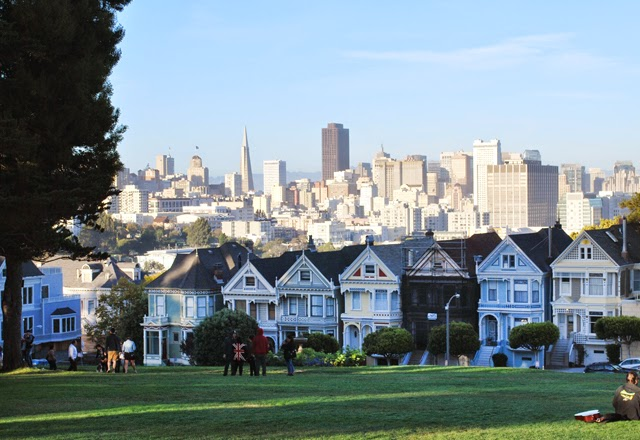 The Painted Ladies in San Francisco, California | Em Then Now When