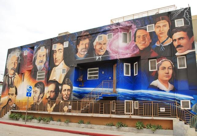 Mural along the Venice Beach Boardwalk | Em Busy Living