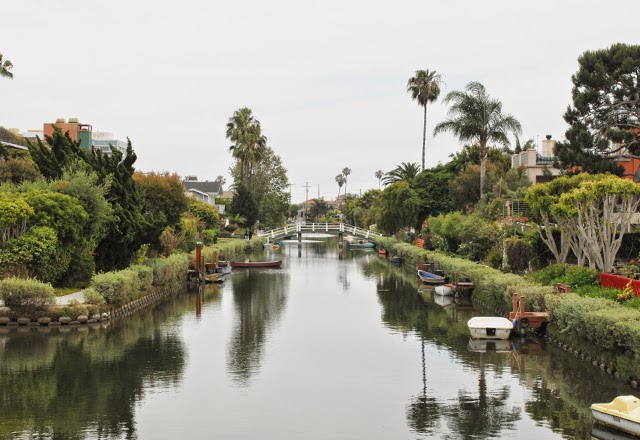 The Venice Beach Canals of Los Angeles, Southern California