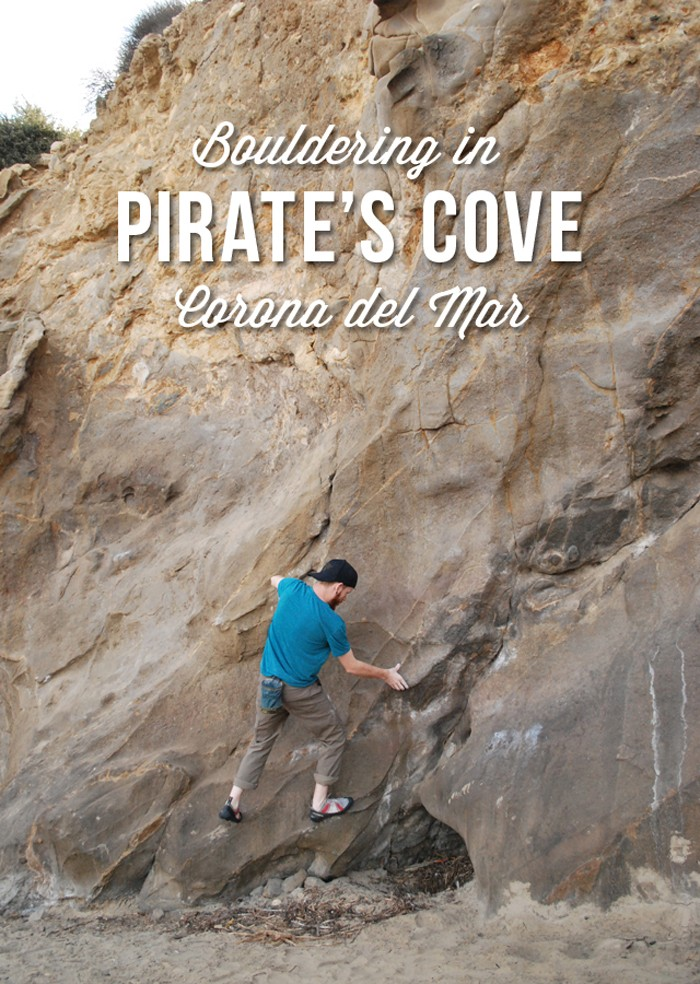 Bouldering in Pirate's Cove