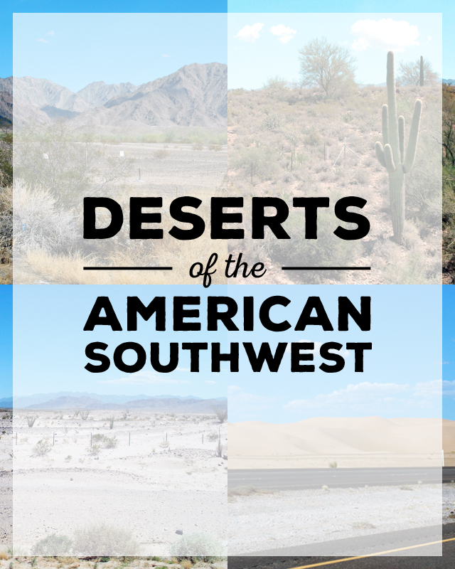 Deserts of the American Southwest | Em Busy Living
