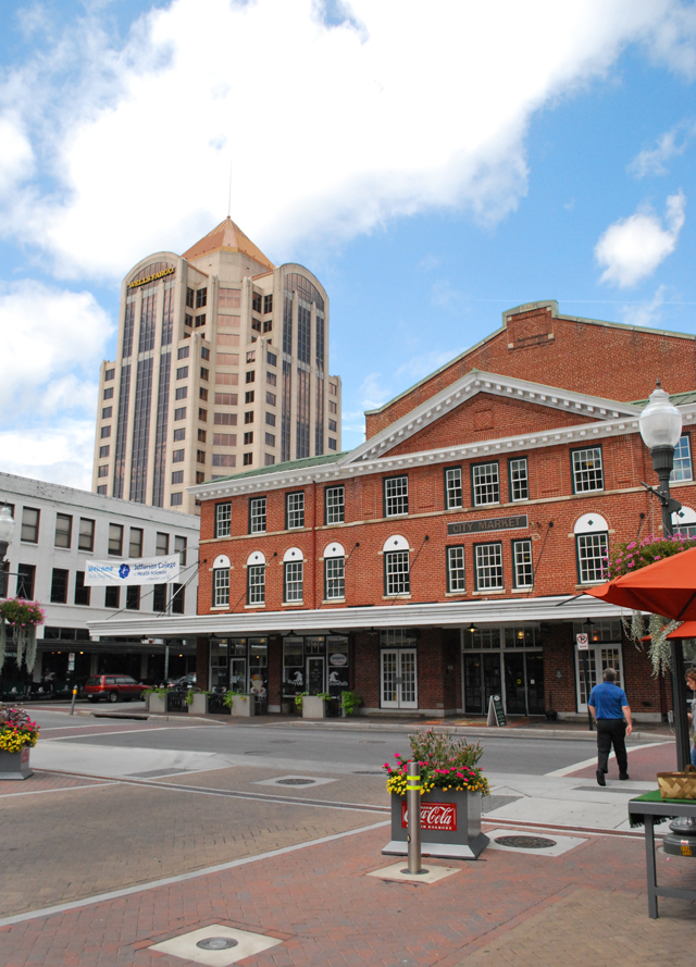 The Historic City Market Building in Roanoke, Virginia | Em Busy Living