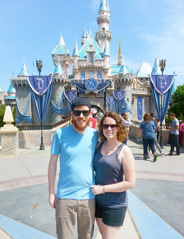 Five Year Anniversary at Disneyland