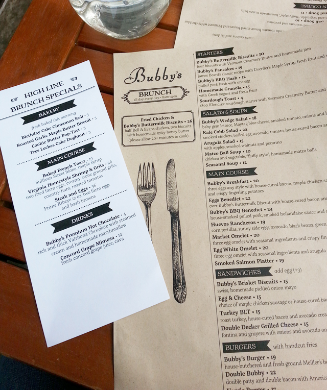 Brunch at Bubby's in the Meatpacking District, NYC | EmBusyLiving.com