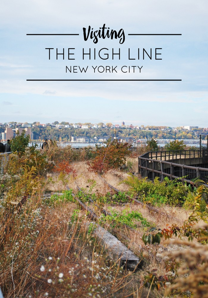 Walking the High Line in NYC