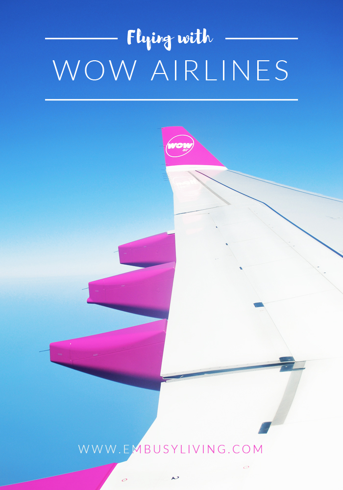 Flying with WOW Airlines