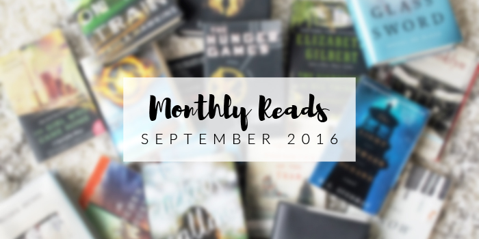 Monthly Reads | September 2016