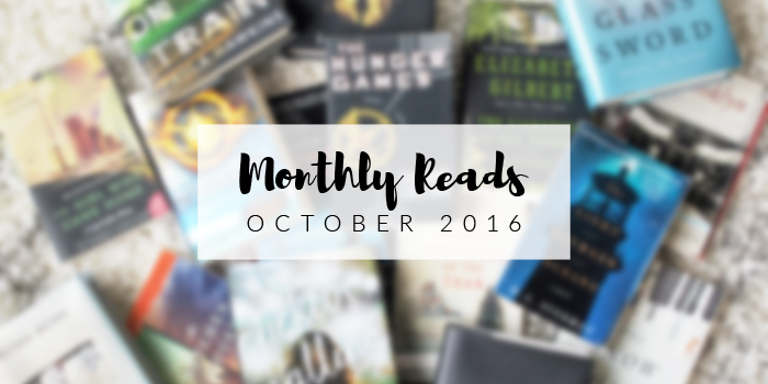 Monthly Reads | October