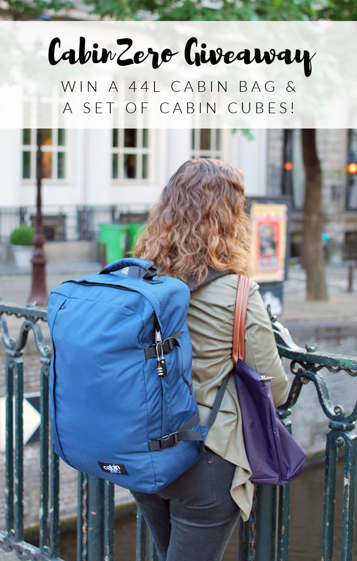 It's a CabinZero Giveaway!