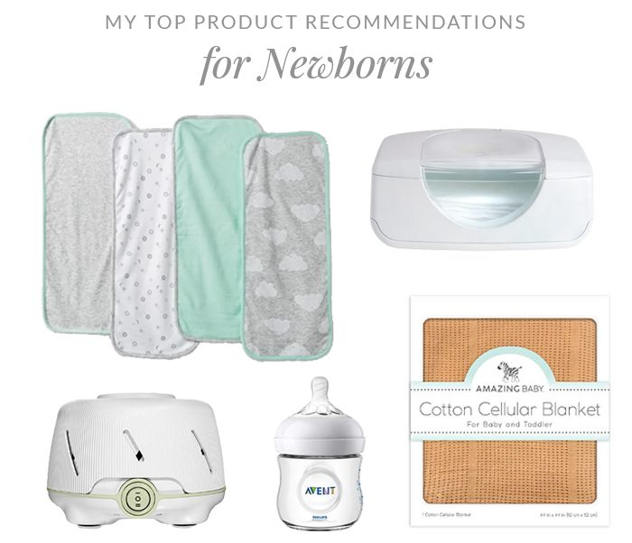 My Top Product Recommendations for Newborns
